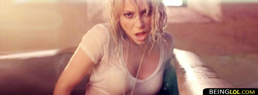 Shakira - Addicted To You. Facebook Cover