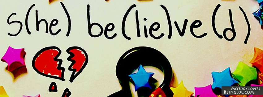 She Believed He Lied Facebook Cover