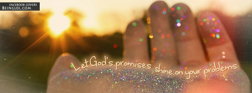 Shine On Your Problems Facebook Cover