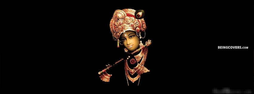 Shri Krishna God Of Hindu Facebook Cover
