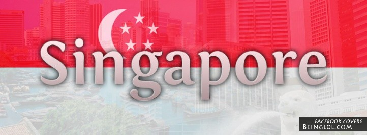 Singapore Flag Facebook Cover