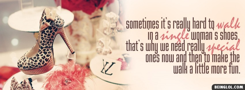 Single Womans Shoes Facebook Cover