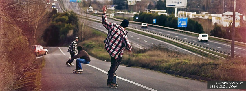 Skate Boarders Facebook Cover