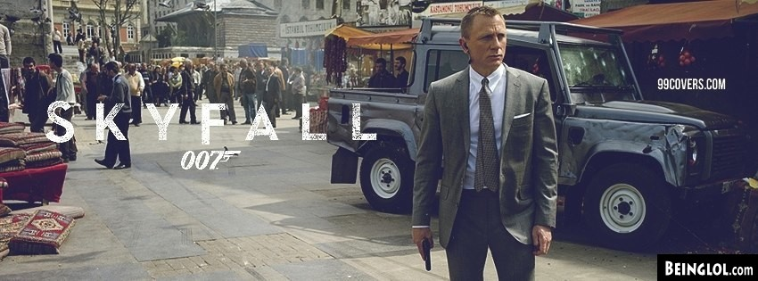 Skyfall Bond Facebook Cover
