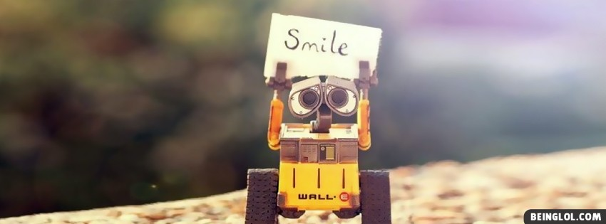 Smile Wall E Facebook Cover