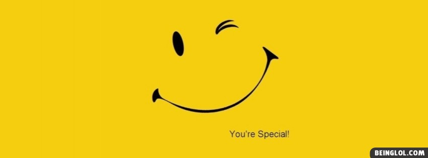 Smile You Are Special Facebook Cover