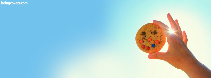 Smiling Cookie Facebook Cover