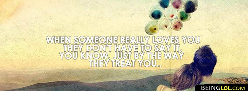 Someone Really Loves You Facebook Cover