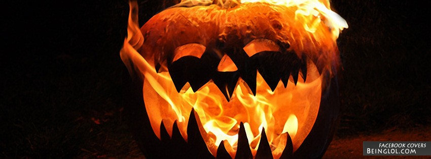 Spooky Pumpkin Facebook Cover