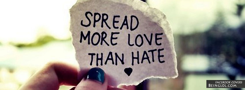 Spread More Love Facebook Cover