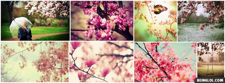 Springtime Collage Facebook Cover
