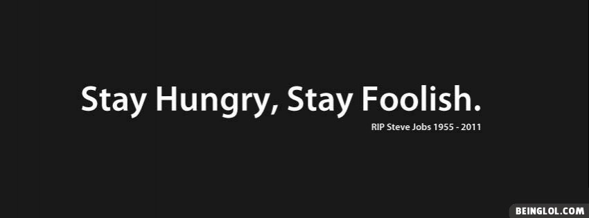 Steve Jobs Quote Facebook Cover