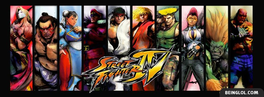 Street Fighter Facebook Cover
