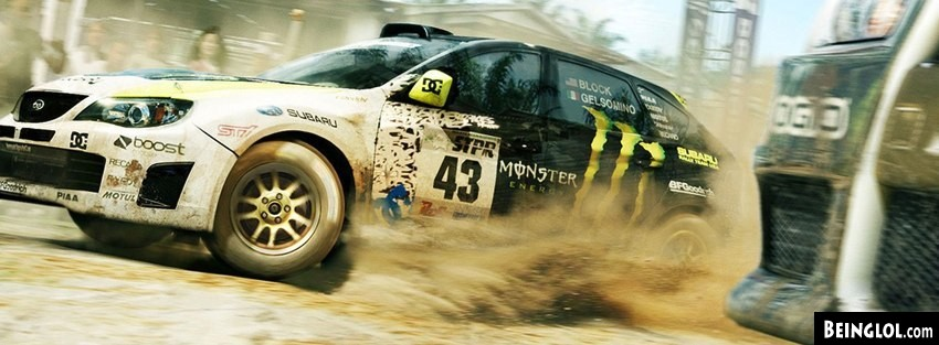 Subaru Racing Facebook Cover