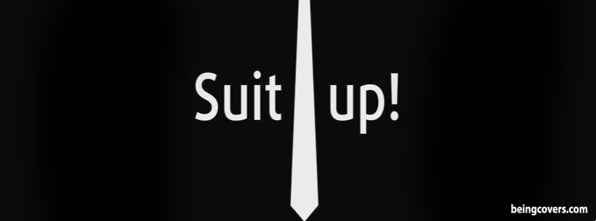 Suit Up Facebook Cover