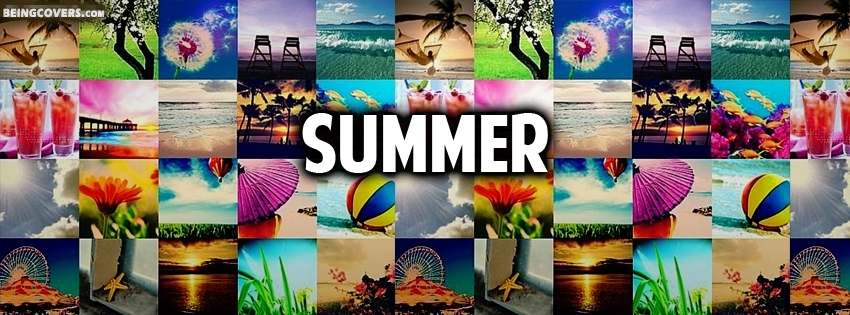 Facebook Cover Collage ~ Summer collage facebook cover timeline banner photo for fb