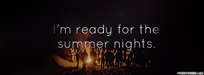 Summer Nights Facebook Cover