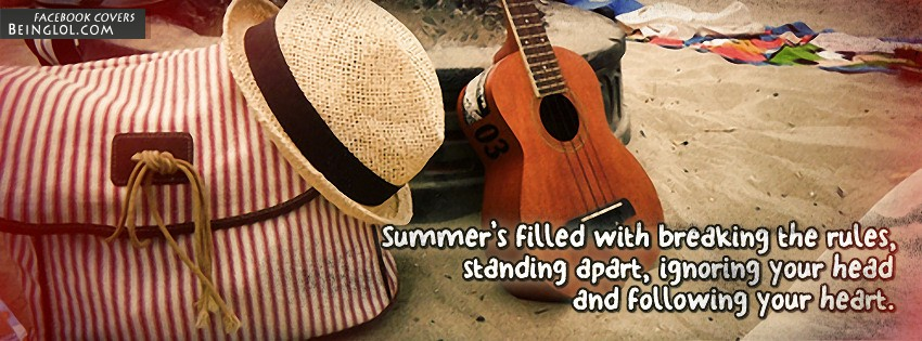 Summer Quotes Facebook Cover