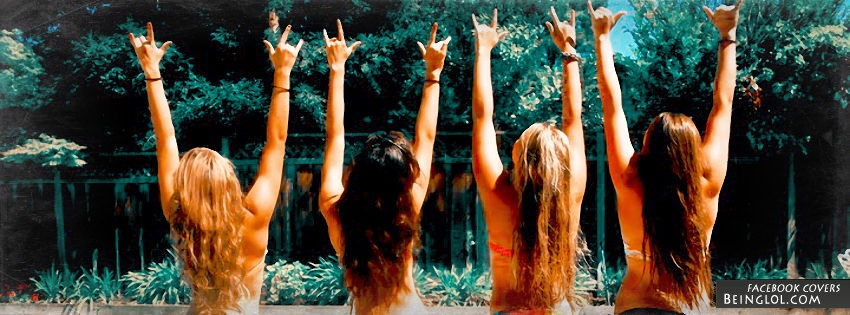 Summer With Friends Facebook Cover