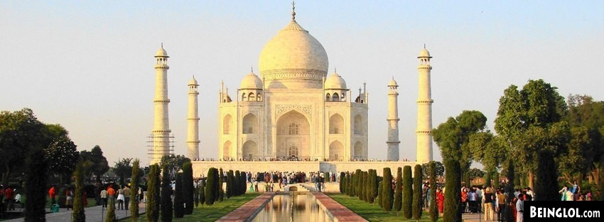 Taj Mahal 1 Facebook Covers Cover