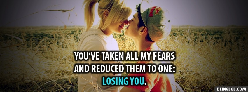Taken All My Fears Facebook Cover