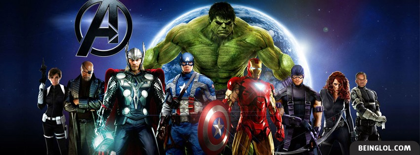 The Avengers Facebook Cover