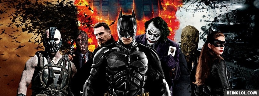 The Dark Knight Trilogy Facebook Cover