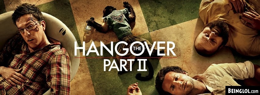The Hangover Part Two Facebook Cover