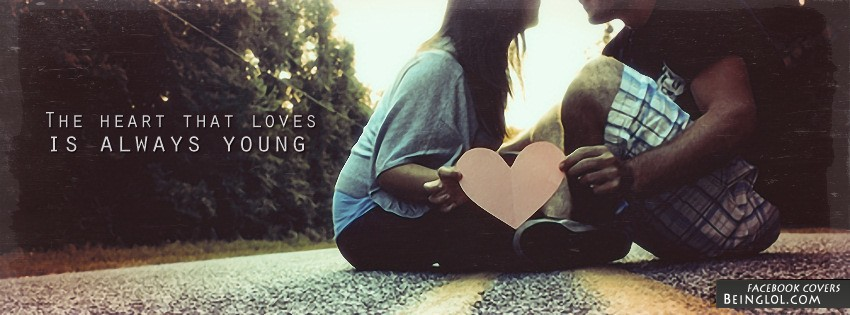 The Heart That Loves Facebook Cover