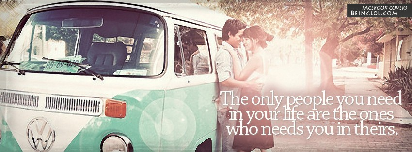The Only People You Need Facebook Cover