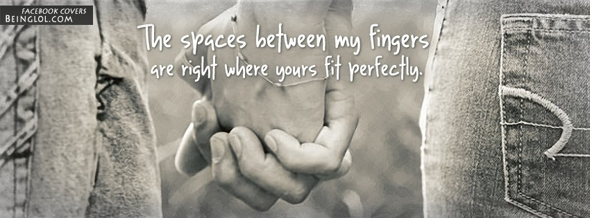 The Spaces Between My Fingers Facebook Cover