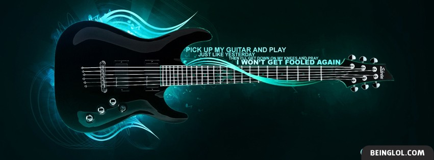 The Who Lyrics Facebook Cover