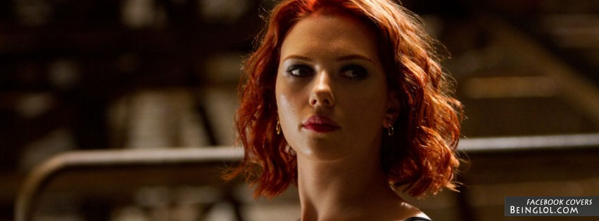 The Avengers Scarlett Johansson Facebook Cover