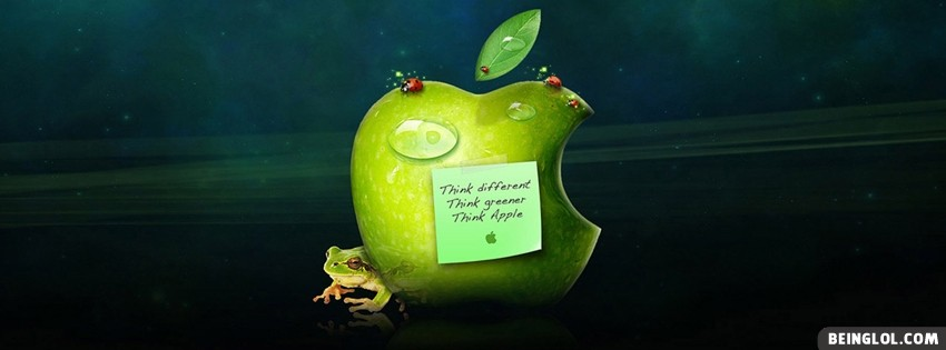 Think Apple Facebook Cover