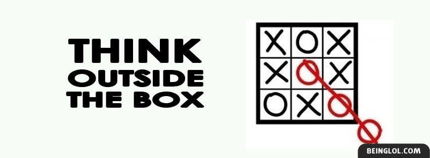Think Outside The Box Facebook Cover