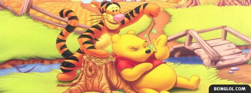 Tigger And Winnie Facebook Cover