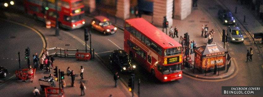 Tilt Shift Photography Facebook Cover