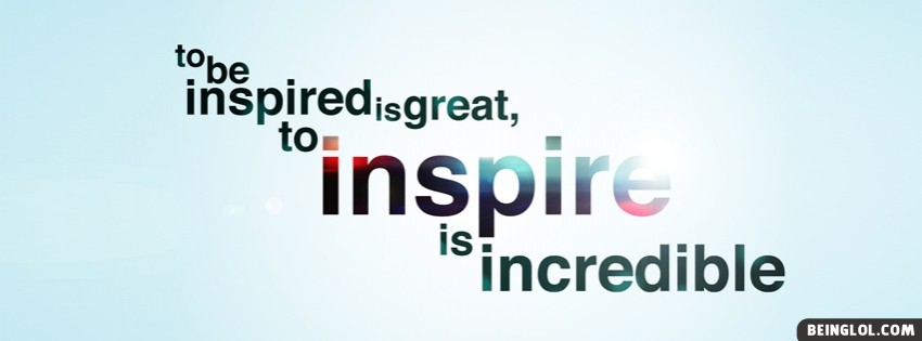To Inspire Facebook Cover