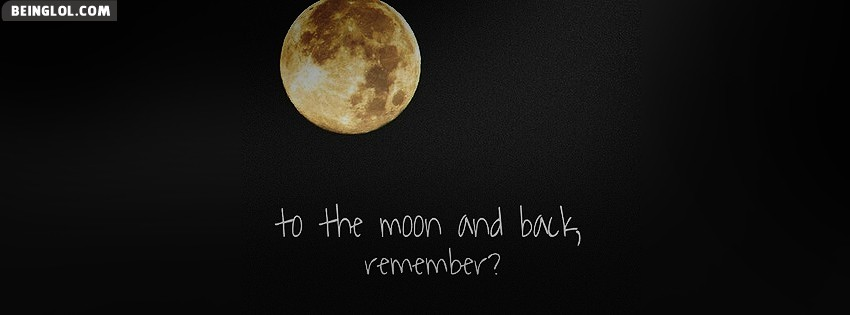 To The Moon Facebook Cover