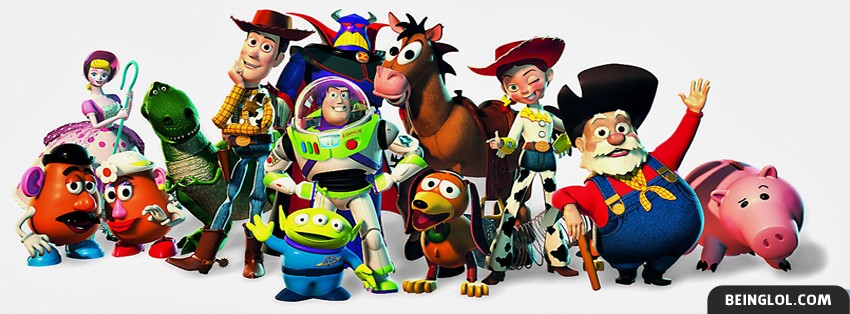 Toy Story Characters Facebook Cover
