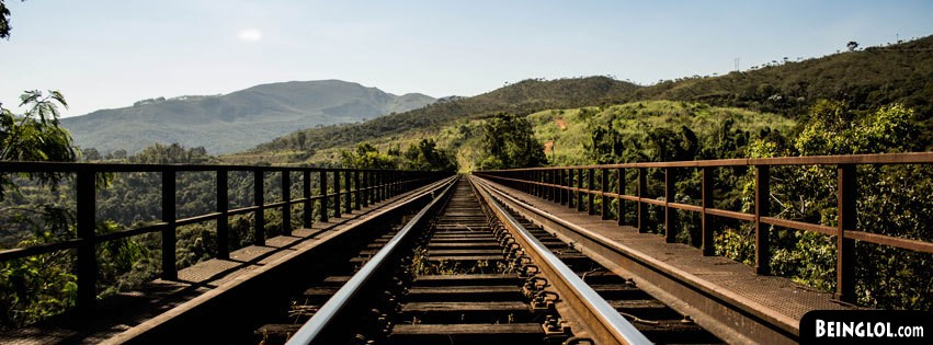 Train Track Bridge Facebook Cover