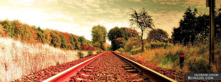 Train Tracks Facebook Cover