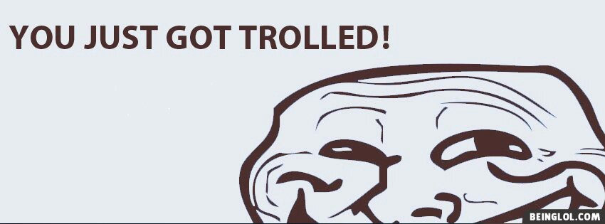 Troll Face Facebook Cover