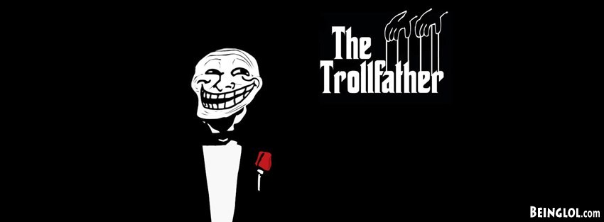 Trollface Trollfather Facebook Cover