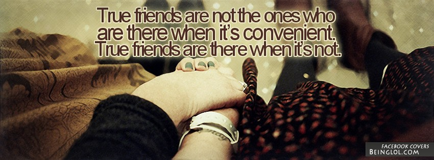 True Friends Facebook Cover