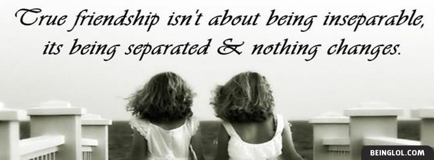 True Friendship Facebook Cover