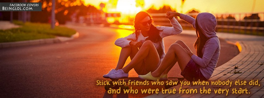 True From The Very Start Facebook Cover