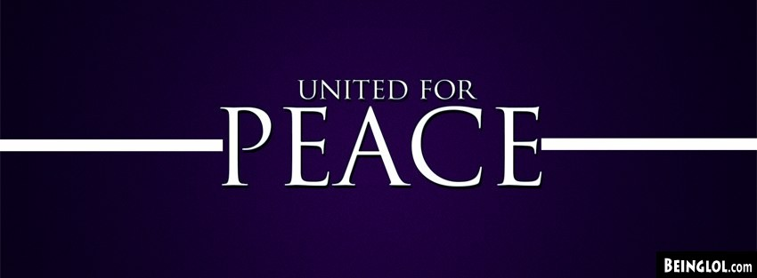 United For Peace Facebook Cover