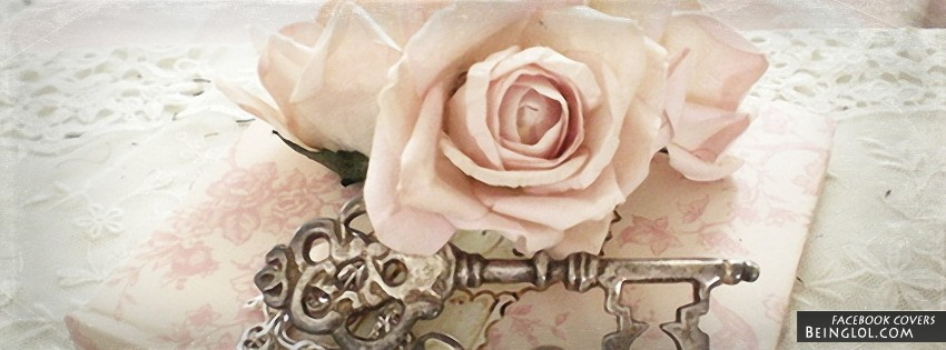 Vintage Rose Facebook Cover
