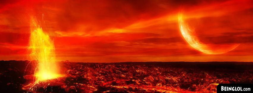 Volcano Pic Facebook Cover